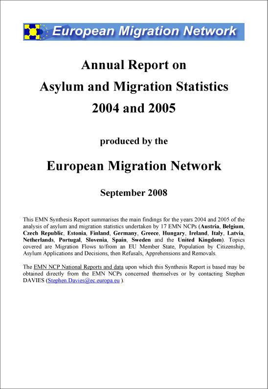 EMN Synthesis Reports The European Migration Network